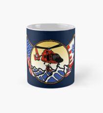 Flags Series - US Coast Guard HH-65 Swimmer Hoist Classic Mug