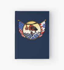 Flags Series - US Coast Guard HH-65 Swimmer Hoist Hardcover Journal
