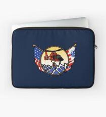 Flags Series - US Coast Guard HH-65 Swimmer Hoist Laptop Sleeve