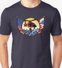 Flags Series - US Coast Guard HH-65 Swimmer Hoist Slim Fit T-Shirt