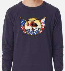 Flags Series - US Coast Guard HH-65 Swimmer Hoist Lightweight Sweatshirt