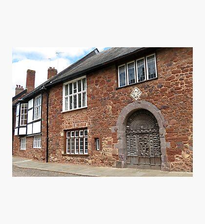Ancient Door, Exeter Fotodruck