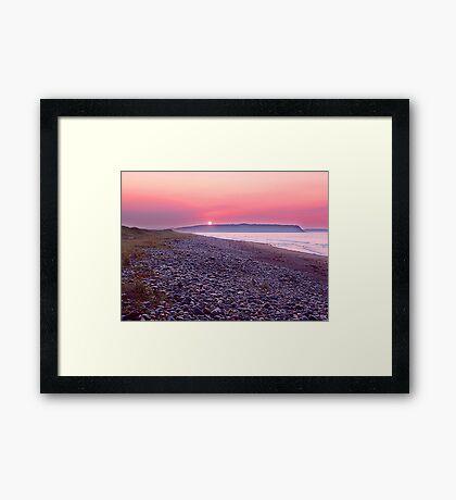 Atlantic Sunrise Framed Print