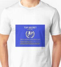 top secret illuminati ship  Unisex T-Shirt