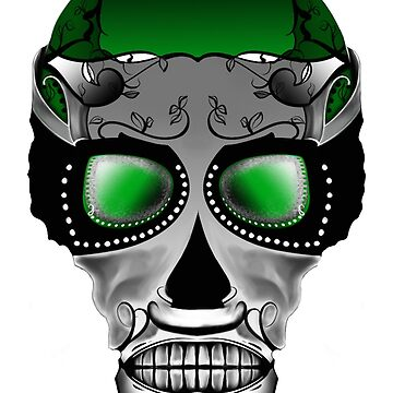 Dia De Los Muertos, Savage Green by MatthewRoss