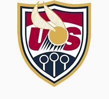 United States of America Quidditch Logo Large Unisex T-Shirt