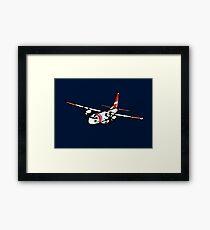 US Coast Guard C-27 Spartan Framed Print