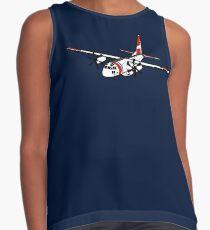 US Coast Guard C-27 Spartan Sleeveless Top