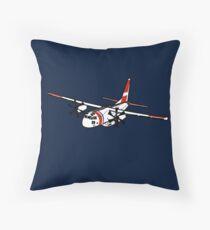 US Coast Guard C-27 Spartan Throw Pillow