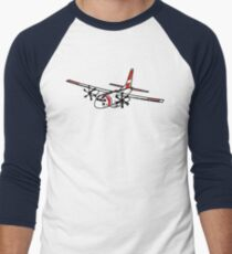US Coast Guard C-27 Spartan Baseball ¾ Sleeve T-Shirt