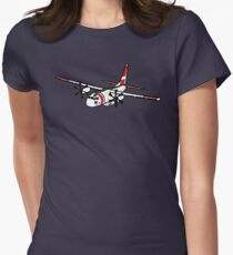 US Coast Guard C-27 Spartan Fitted T-Shirt