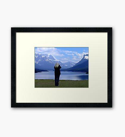 Capturing Paradise Framed Print