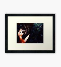 01-22-11  Black Swan Framed Print