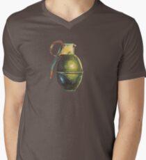 Grenade II Mens V-Neck T-Shirt