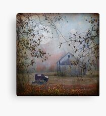 seen better days... Canvas Print