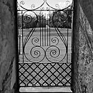 Ornate Gate II by Wendy Mogul
