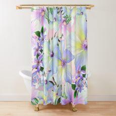 Lavender Tropic Shower Curtain