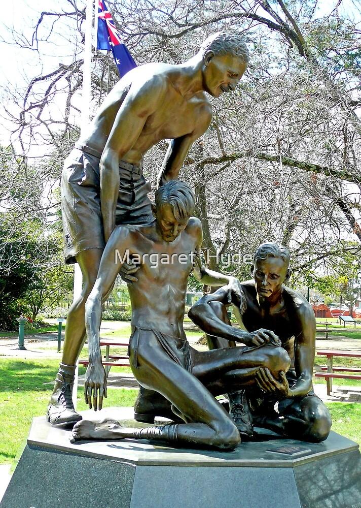 "Ernest Edward ""Weary"" Dunlop Memorial, Benalla, Vic. Australia by Margaret  Hyde"