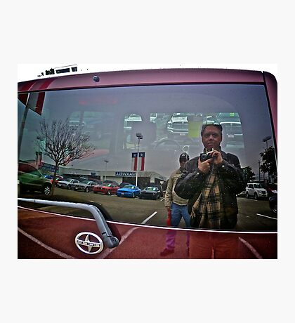 Used Car Hunting Hounds - Austin Texas Photographic Print