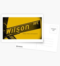 Wilson Avenue F8C200 Black Pasadena CA by MWP Postcards