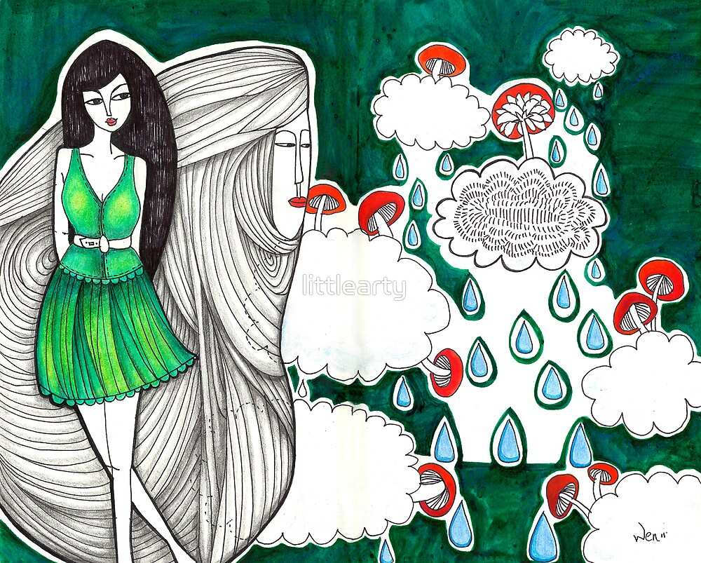 Sketch 5 ... yiwen vs. mario by littlearty