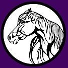 Sharpie Horses: Annie by mellierosetest