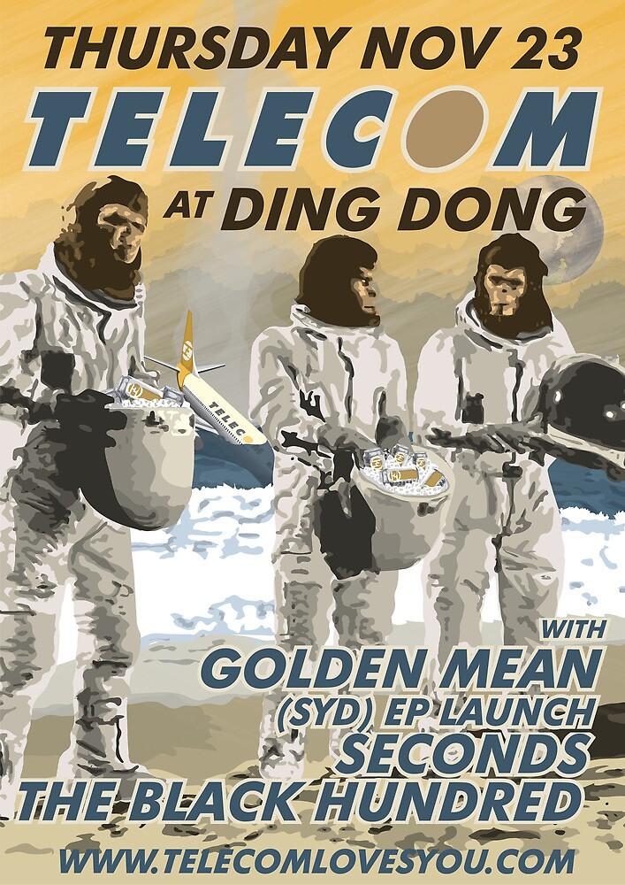 Telecom at Ding Dong 2006 11 23 by telecom