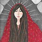 Mary Magdalene in Contemplation by LauriAnnLumby