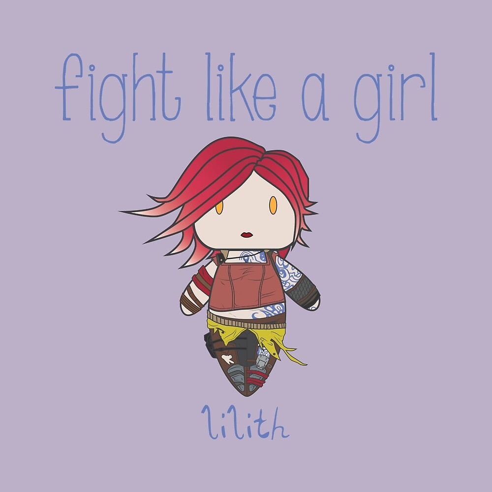 Fight Like a Girl | Fire Girl by isasaldanha