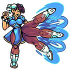 Chun Li from Street Fighter by theknobbywood