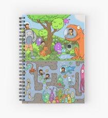 What Lies Beneath Spiral Notebook