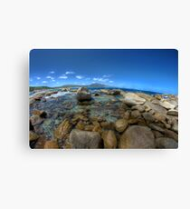 Rocks at Bettys beach Canvas Print