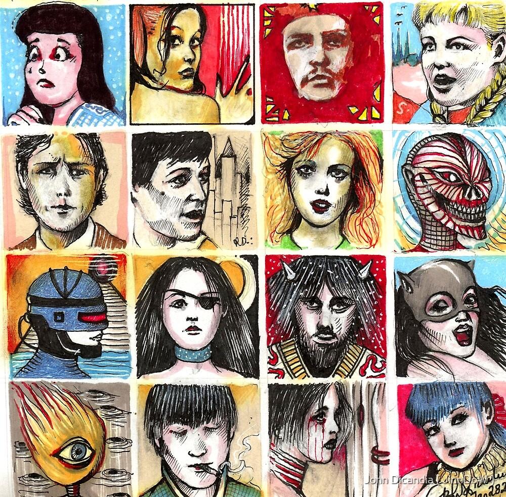 Faces  by John Dicandia ( JinnDoW )