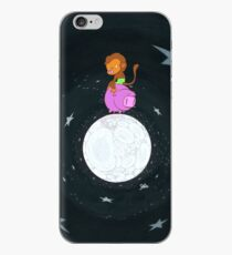 Baby Monkey Rides A Pig Backwards On The Moon iPhone Case