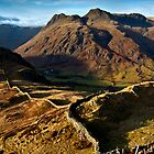 Winter views of the Langdale pikes by Shaun Whiteman