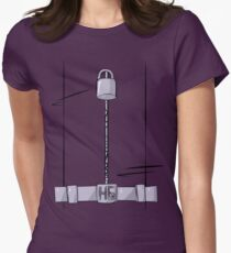 Hit Girl Frontal Womens Fitted T-Shirt