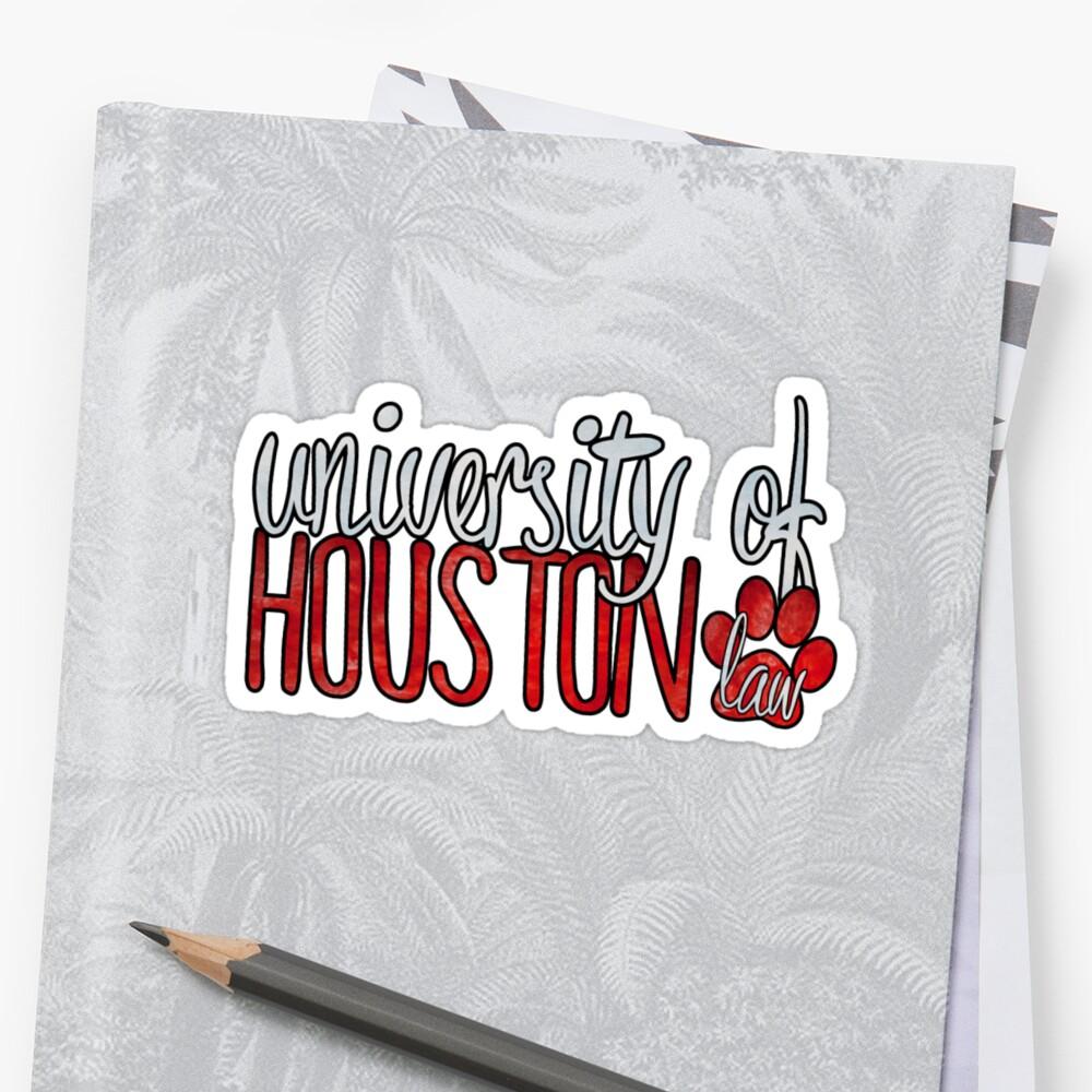 University of Houston Law Two Tone by Kt Farello Designs
