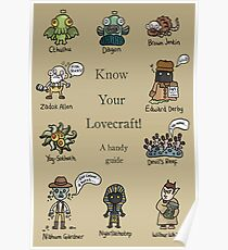 Know Your Lovecraft! Poster