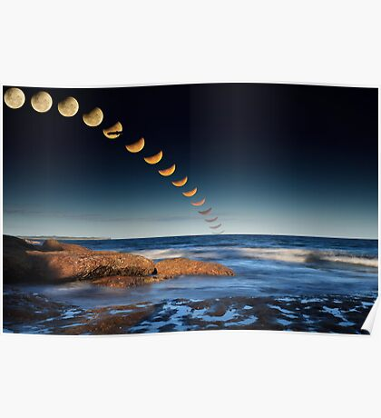 The December 2010 Summer Solstace Lunar Eclipse Poster