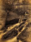 Below R.B. Ricketts Falls (faux vintage) by Aaron Campbell