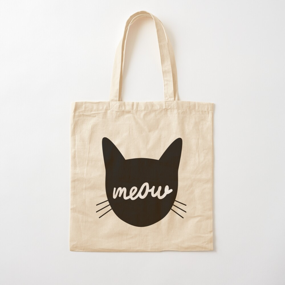 Meow! Cotton Tote Bag