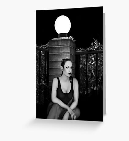 Solitary Soul - Self Portrait Greeting Card