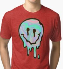 Hologram Smile Tri-blend T-Shirt