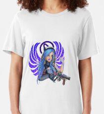 Maya Angel - Borderlands Slim Fit T-Shirt