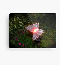 Fairy Land Night Scapes- Fairy Ferry Metal Print