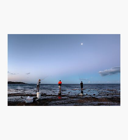Three Fishermen Photographic Print