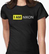 Camiseta entallada para mujer I AM NIKON