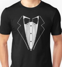 TUXEDO Wedding Groom Prom Bow T-Shirt