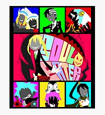 Let's Get Neon (Soul Eater) Photographic Print