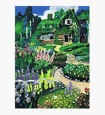 Kiki's Garden Photographic Print